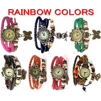 LADI SHRE 7 Days- 7 Feng Shui Colors -  Vintage Bracelet Watches