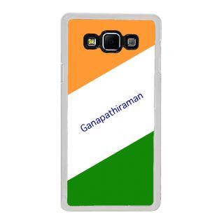 Flashmob Premium Tricolor DL Back Cover Samsung Galaxy A8 -Ganapathiraman