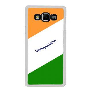 Flashmob Premium Tricolor DL Back Cover Samsung Galaxy A8 -Venugopalan