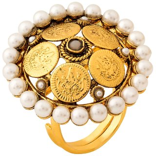 Jay Shreeya Creations Heavenly Copper Ring
