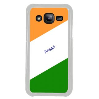 Flashmob Premium Tricolor DL Back Cover Samsung Galaxy J2 -Ansari