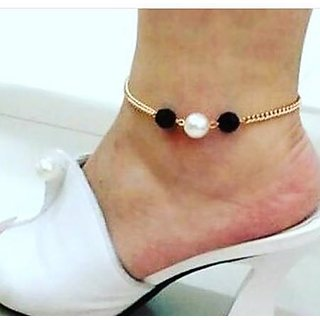 Pearl Bead  Anklets For Women