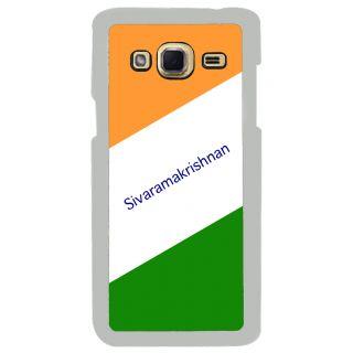 Flashmob Premium Tricolor DL Back Cover Samsung Galaxy J3 -Sivaramakrishnan