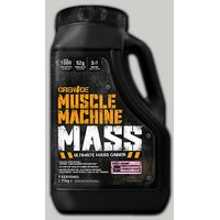 GRENADE Muscle Machine Mass Strawberry 5 Lbs Jerry Can