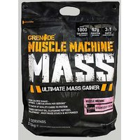 GRENADE Muscle Machine Mass Strawberry 12.6 Lbs Bag