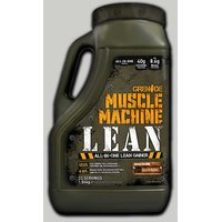 GRENADE Muscle Machine Lean Chocolate 4 Lbs Jerry Can