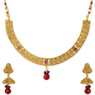 Jay Shreeya Creations Copper Jewel Set