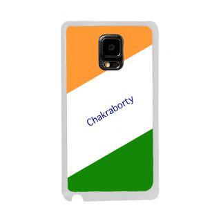 Flashmob Premium Tricolor DL Back Cover Samsung Galaxy Note Edge -Chakraborty
