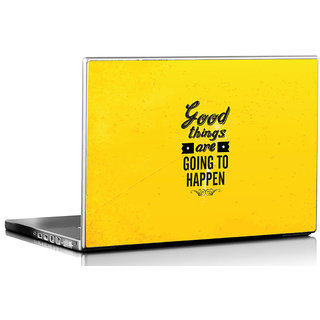 Seven Rays Good Things Are going to happen laptop Skin
