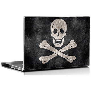 Seven Rays   Bone Laptop Skin