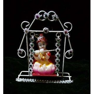 Hand Painted Crafts From India For Home Decor  Laddu Gopal Jhula