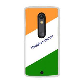 Flashmob Premium Tricolor DL Back Cover Motorola Moto X Play -Neelakantachar