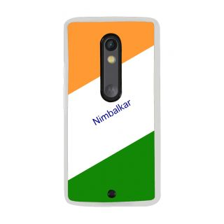 Flashmob Premium Tricolor DL Back Cover Motorola Moto X Play -Nimbalkar