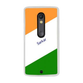 Flashmob Premium Tricolor DL Back Cover Motorola Moto X Play -Sarkar