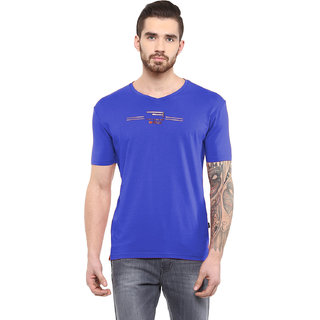 Fritzberg Mens Printed V Neck T-shirt