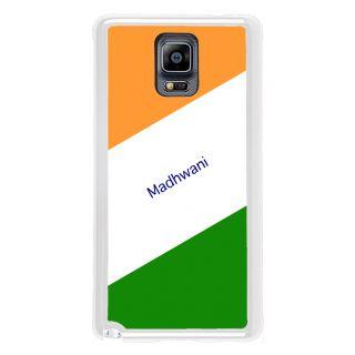 Flashmob Premium Tricolor DL Back Cover Samsung Galaxy Note 3 -Madhwani