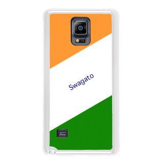 Flashmob Premium Tricolor DL Back Cover Samsung Galaxy Note 4 -Swagato