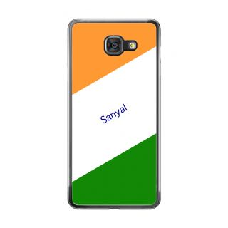 Flashmob Premium Tricolor DL Back Cover Samsung Galaxy A7 2016 -Sanyal