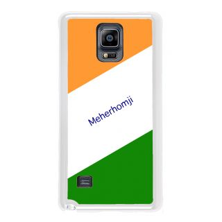 Flashmob Premium Tricolor DL Back Cover Samsung Galaxy Note 4 -Meherhomji