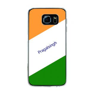 Flashmob Premium Tricolor DL Back Cover Samsung Galaxy S6 Edge -Pragalsingh