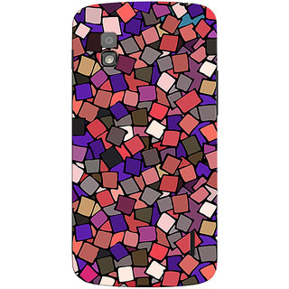 Oyehoye Pattern Style Printed Designer Back Cover For LG Google Nexus 4 Mobile Phone - Matte Finish Hard Plastic Slim Case
