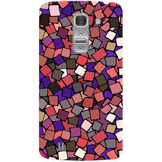 Oyehoye Pattern Style Printed Designer Back Cover For LG Pro 2 / D838 Mobile Phone - Matte Finish Hard Plastic Slim Case