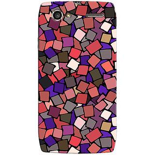 Oyehoye Pattern Style Printed Designer Back Cover For Motorola RAZR V XT885 Mobile Phone - Matte Finish Hard Plastic Slim Case