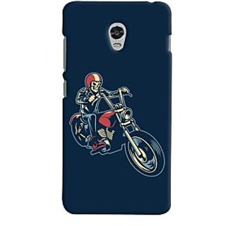 Oyehoye Bikers Or Riders Choice Printed Designer Back Cover For Lenovo Vibe P1M Mobile Phone - Matte Finish Hard Plastic Slim Case