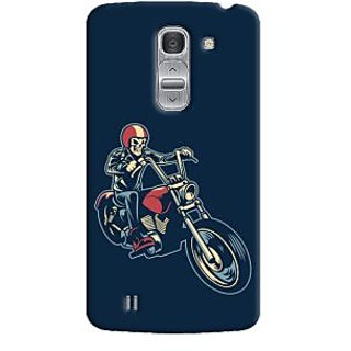 Oyehoye Bikers Or Riders Choice Printed Designer Back Cover For LG Pro 2 / D838 Mobile Phone - Matte Finish Hard Plastic Slim Case