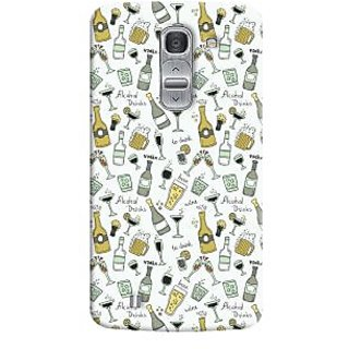 Oyehoye Patter Style Printed Designer Back Cover For LG Pro 2 / D838 Mobile Phone - Matte Finish Hard Plastic Slim Case