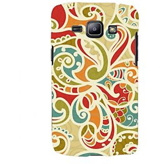 Oyehoye Floral Pattern Style Printed Designer Back Cover For Samsung Galaxy J1 (2016 Edition) Mobile Phone - Matte Finish Hard Plastic Slim Case