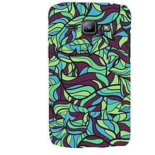 Oyehoye Modern Art Pattern Style Printed Designer Back Cover For Samsung Galaxy J1 (2016 Edition) Mobile Phone - Matte Finish Hard Plastic Slim Case