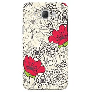 Oyehoye Floral Pattern Style Printed Designer Back Cover For Samsung Galaxy Grand Max Mobile Phone - Matte Finish Hard Plastic Slim Case