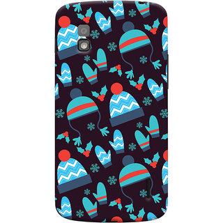 Oyehoye Winter Pattern Style Printed Designer Back Cover For LG Google Nexus 4 Mobile Phone - Matte Finish Hard Plastic Slim Case