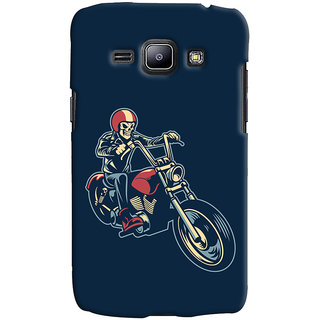 Oyehoye Bikers Or Riders Choice Printed Designer Back Cover For Samsung Galaxy J1 (2016 Edition) Mobile Phone - Matte Finish Hard Plastic Slim Case