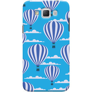 Oyehoye Hot Air Balloon Pattern Style Printed Designer Back Cover For Samsung Galaxy Grand Max Mobile Phone - Matte Finish Hard Plastic Slim Case