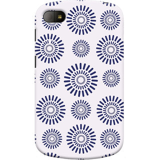 Oyehoye Pattern Style Printed Designer Back Cover For Blackberry Q10 Mobile Phone - Matte Finish Hard Plastic Slim Case