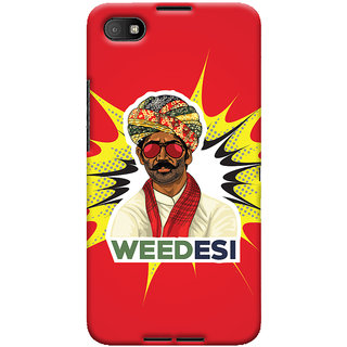 Oyehoye WEEDesi Quirky Style Printed Designer Back Cover For Blackberry Z30 Mobile Phone - Matte Finish Hard Plastic Slim Case