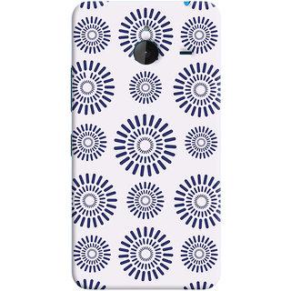 Oyehoye Pattern Style Printed Designer Back Cover For Microsoft Lumia 640 XL Mobile Phone - Matte Finish Hard Plastic Slim Case