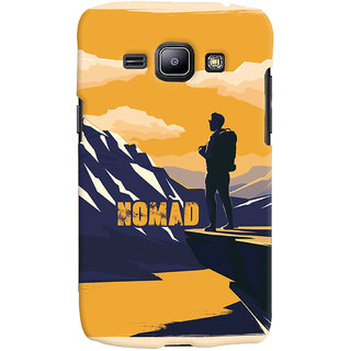 Oyehoye Nomad Travellers Choice Printed Designer Back Cover For Samsung Galaxy J1 (2016 Edition) Mobile Phone - Matte Finish Hard Plastic Slim Case