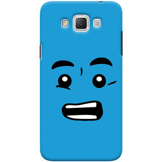 Oyehoye Quirky Smiley Printed Designer Back Cover For Samsung Galaxy Grand Max Mobile Phone - Matte Finish Hard Plastic Slim Case