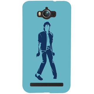 Oyehoye Michael Jackson Printed Designer Back Cover For Asus Zenfone Max ZC550KL Mobile Phone - Matte Finish Hard Plastic Slim Case