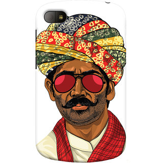 Oyehoye Desi Swag Quirky Printed Designer Back Cover For Blackberry Q10 Mobile Phone - Matte Finish Hard Plastic Slim Case