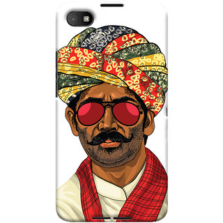 Oyehoye Desi Swag Quirky Printed Designer Back Cover For Blackberry Z30 Mobile Phone - Matte Finish Hard Plastic Slim Case