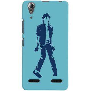 Oyehoye Michael Jackson Printed Designer Back Cover For Lenovo A6000 Mobile Phone - Matte Finish Hard Plastic Slim Case