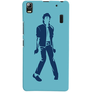 Oyehoye Michael Jackson Printed Designer Back Cover For Lenovo A7000 Mobile Phone - Matte Finish Hard Plastic Slim Case