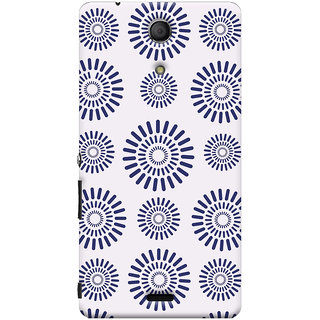 Oyehoye Pattern Style Printed Designer Back Cover For Sony Xperia ZR Mobile Phone - Matte Finish Hard Plastic Slim Case