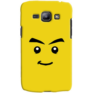 Oyehoye Sarcastic Smiley Quirky Printed Designer Back Cover For Samsung Galaxy J1 (2016 Edition) Mobile Phone - Matte Finish Hard Plastic Slim Case