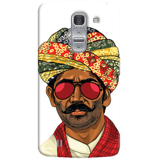 Oyehoye Desi Swag Quirky Printed Designer Back Cover For LG Pro 2 / D838 Mobile Phone - Matte Finish Hard Plastic Slim Case