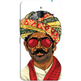 Oyehoye Desi Swag Quirky Printed Designer Back Cover For Microsoft Lumia 640 XL Mobile Phone - Matte Finish Hard Plastic Slim Case